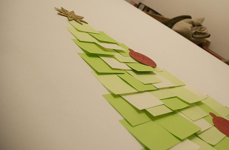 Flat Sided Christmas Tree