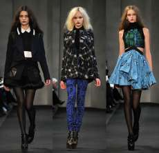 Hipster Couture  - Proenza Schouler Fall 2010 Collection