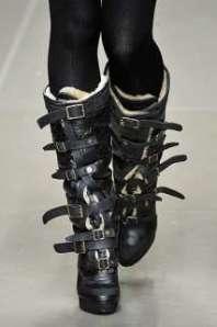 Straitjacket Buckle Boots - Heavy Duty Winter Wear